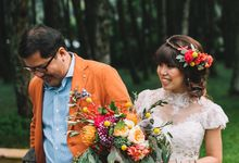 Boho Wedding - Let the colours come by Pepper Suite Events