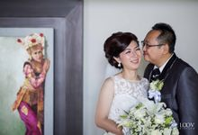 The Wedding Day of Ferry and Raisa by Loov Pictura