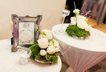 Arissa and Van Ness Wedding by Fabulation