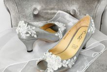 Miss Fajri Bridal Shoes by Evaldo Bridal Shoes