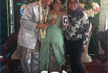 Wedding of Elfarin and Ardi by Jepret Allegra Instant Print