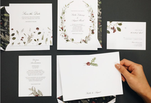 Floral Wedding by Paperless Post