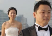 Sern & Florrie // helipad // holy matrimony // Equinox wedding lunch // post wedding highlight by Teck Kuan // 2014 by The Next Chapter Film