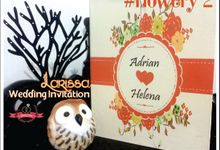 Cetak Undangan Nikah Bagus Murah Unik Wedding Invitation by Larissa Invitation