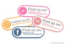 Find & Follow us - Catherine Wedding & Photo by Catherine Wedding & Photo