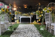 Indoor Wedding - The Laneway Restaurant by Peppers Seminyak