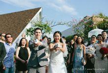 The Wedding of Richard & Ferina by fotovela wedding portraiture
