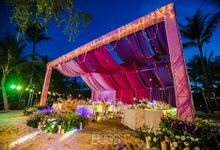 Tropical garden wedding at W Retreat by BLISS Events & Weddings Thailand