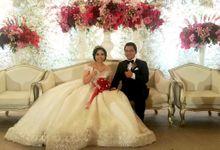 FREDERICK AND CARMIA WEDDING by Floline Flower