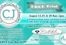 FREE Trial with FREE Tasting and FREE coupons by CJ Jimenez Hair and Make Up Artists Team