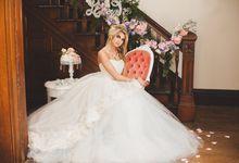 French Wedding Inspiration Photoshoot by La Candella Weddings