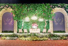 The wedding of Aydhil & Tias by Alleka Design