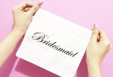 Favors for your bridesmaid by Bridesmaid & Co