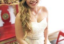 Actual Day Bridal Makeup and Hairstyling (Amanda + Joe) - Bohemian Chic by Sylvia Koh Makeup and Hairstyling