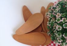 Wooden Ice Cream Spoon by La Dame in Wood