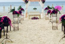 Beach Wedding by The Bellevue Resort