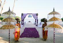 WEDDING OF LEE & KIM by Courtyard by Marriott Bali Nusa Dua