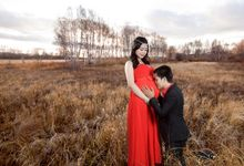 Maternity photoshoot by Gembira Photo Studio Bridal Salon