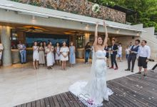 Overwater wedding of Grace & Calvin by BLISS Events & Weddings Thailand