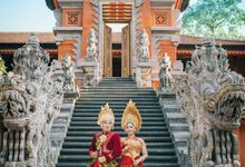 GEK RATIH & GUNG TEDE by Onemotion Photography