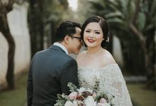 James & Gina Wedding by Hilda by Bridestory