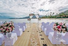 Louise and Graeme wedding at Le Meridien Koh Samui Resort and Spa by BLISS Events & Weddings Thailand