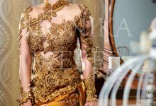 Kebaya - Gold by MONIKA WEBER Home of Fashion