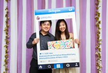 Gabriel and Huixin Wedding Day Photobooth at Katong Village Hotel Singapore  (Actual Day) by The Explosive Booth
