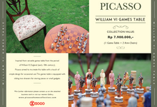 William VI Games Table by PICASSO