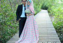 Pre Wedding Eliza & Taufik by Wedding Dress Muslimah Designer