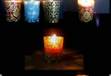 Candles and souvenir for Wedding by Wargia Bali