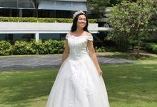 Greenery Themed Wedding Shoot by L'umiére Weddings Singapore