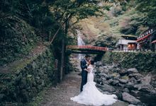 Overseas Prewedding Japan - Guanyi and Wee Ling by Annabel Law Productions
