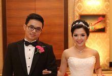 Wedding Bouquet by d'eufloria