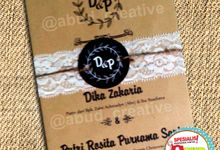 Rustic Wedding Invitation by Abud Creative Design