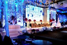 Wedding Light of Angel & Andre by Etcetera Lighting