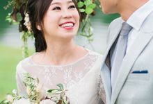 Han & Winnie Love Story by Zinny Theint Make-up Artistry