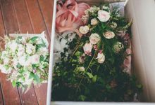A french inspired intimate wedding by Ginger Lily & Rose Floral Studio
