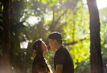 Engagement Session of Hazel and Alroy at Singapore Botanical Gardens (Prewedding Photography) by oolphoto
