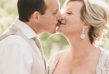 Geode Druzy Wedding earrings by Twixt Designs