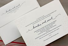 Bespoke Letterpress - Hendra and Carol by Bespoke Letterpress