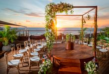 Luxury Double-Six Wedding at Rooftop Sunset Bar by Double-Six Luxury Hotel Seminyak