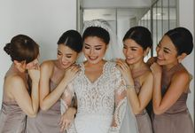 Cathedral Jakarta & The Edge Uluwatu   Duo City Wedding of Julia & Erick by ILUMINEN