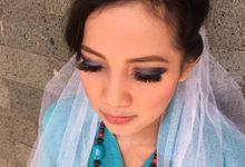 Shanti trial wedding makeup by Nic Makeup Art