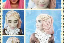 Wedding Makeup by Ticka Kreasi Henna arts & make up