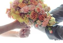 Bridal Bouquet by Flonaya by The Flonaya