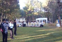 Sisi & Caka Wedding - Pine Forrest Lembang by  Jempol Jenthik Orkes Keroncong