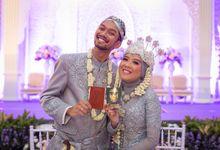 wedding ceremony by The Precious One Wedding Planner and Organizer
