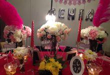Fenia Bridal Shower by Fleurette Party Planner