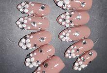 3D Acrylic Fake Nails by SVS Nail Shop